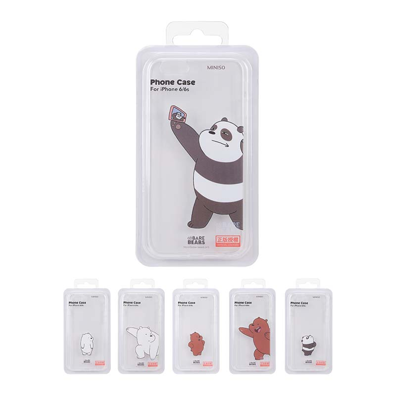 new style cfcc2 bd3b2 We Bare Bears - Clear Cellphone Case for iPhone 6/6s